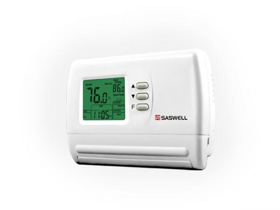 Multi-stage thermostat,5+2 programmable fan coil thermostat,Programmable multi stage thermostat